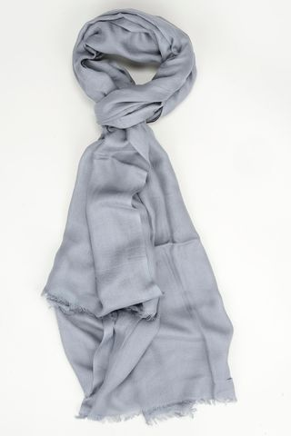 grey modal scarf Angelico
