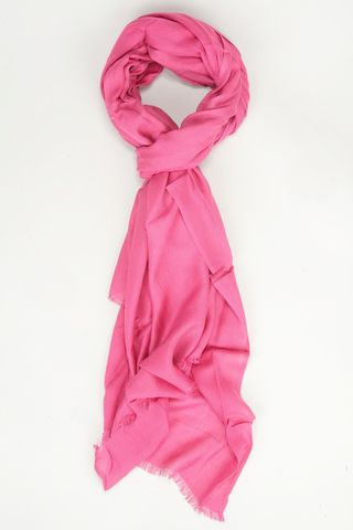 magenta modal scarf Angelico