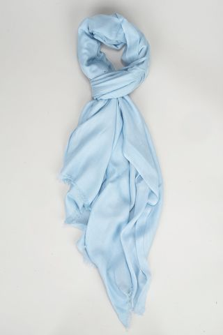 baby blue modal scarf Angelico