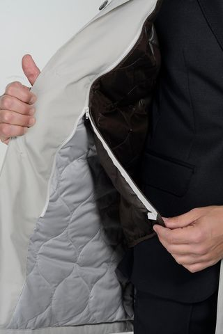 cappotto tecnico ghiaccio imbottitura staccabile Angelico