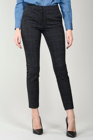 Grey-blue Wales skinny stretch pants Angelico