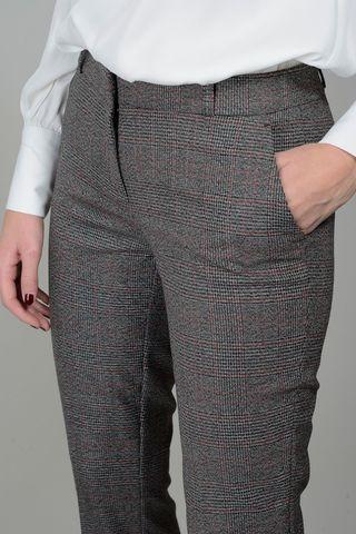 pantalone grigio-rosso galles trombetta Angelico