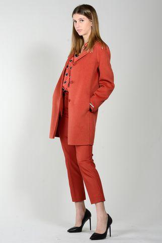 Cappotto mattone 3 bottoni Emme Angelico