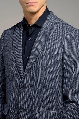 giacca azzurra armatura occhio pernice Angelico