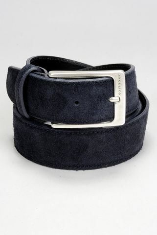 blue suede belt Angelico