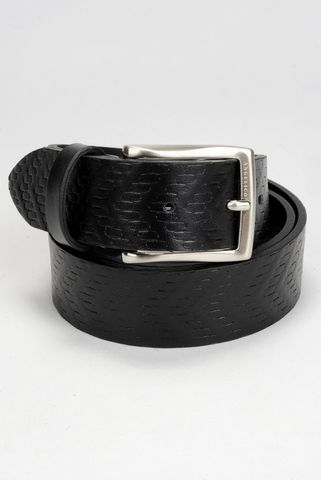 black belt printed calfskin Angelico