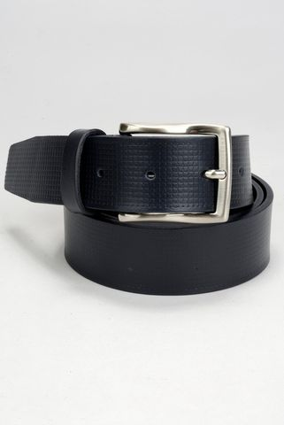 navy belt printed calfskin Angelico