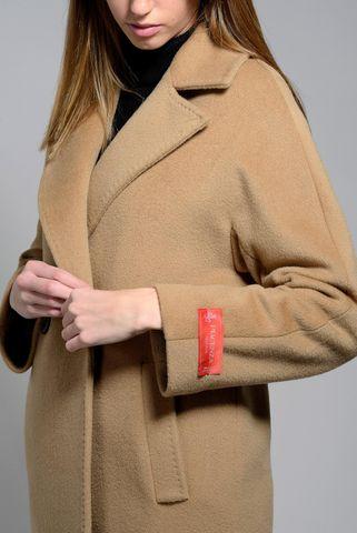 cappotto cammello tessuto piacenza Angelico
