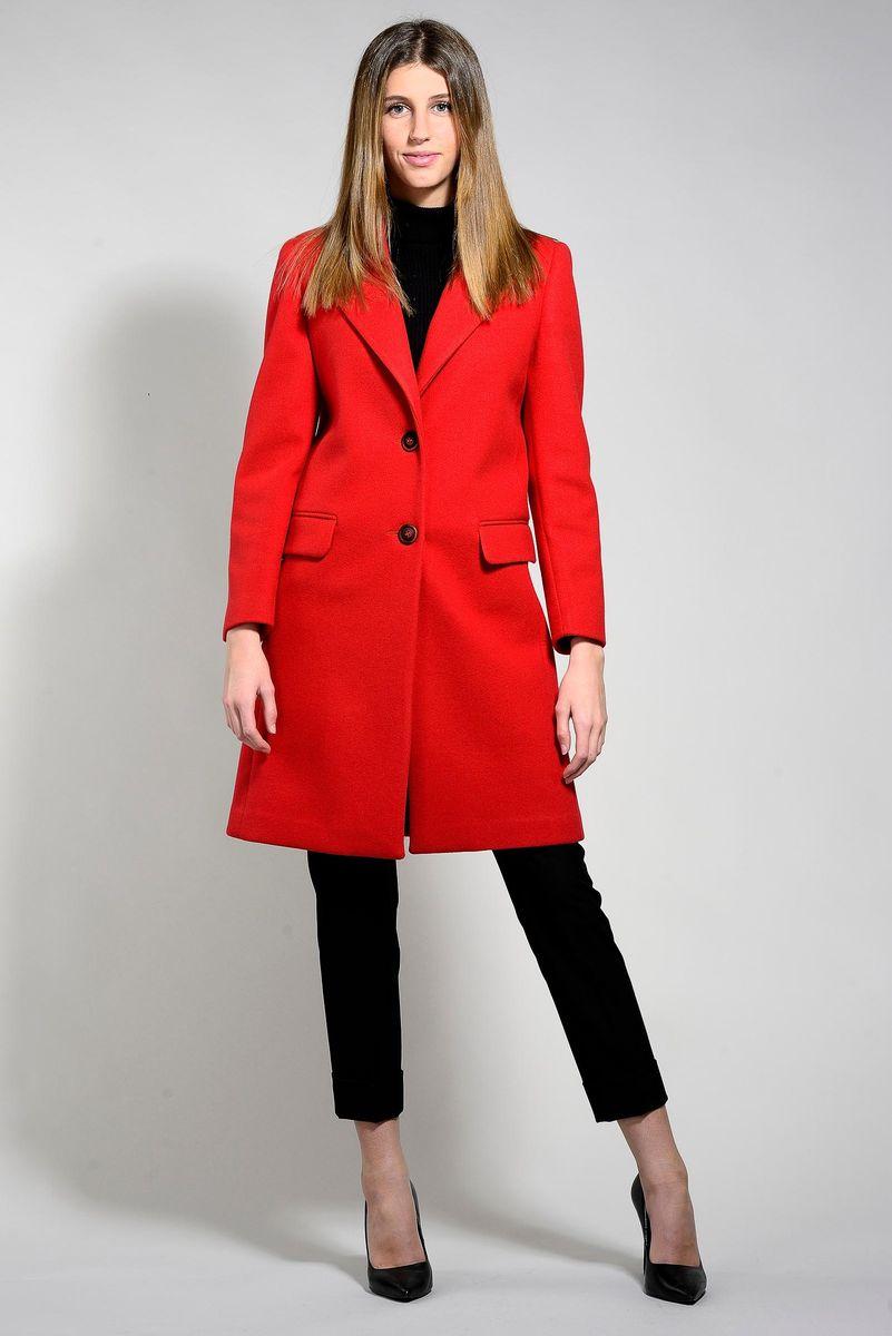 cappotto rosso 2bottoni Angelico