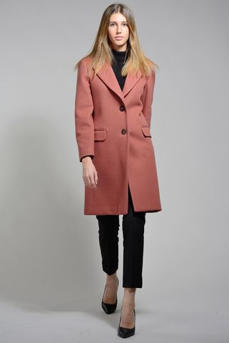 old pink coat 2-buttons Angelico