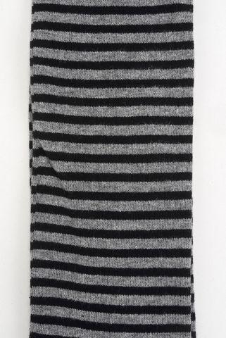 black-gray socks fine stripes warm cotton Angelico
