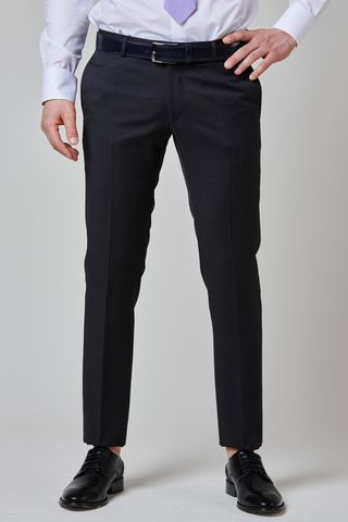 charcoal trousers 100s four seasons slim Angelico