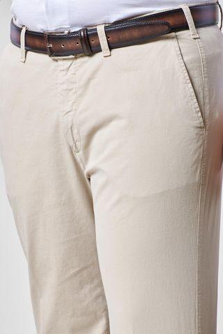 pantalone sabbia tricotina elasticizzata comodo Angelico