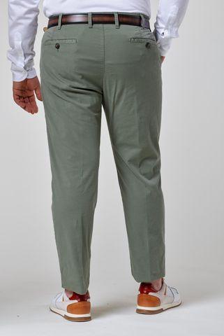 pantalone salvia tricotina elasticizzata comodo Angelico