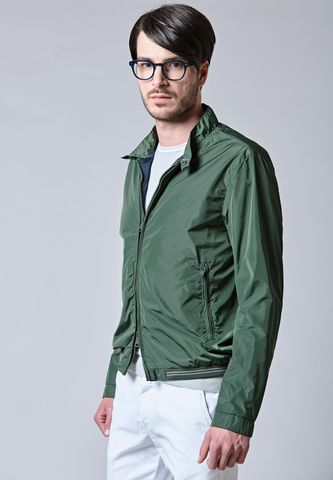 nylon military bomber jacket Angelico