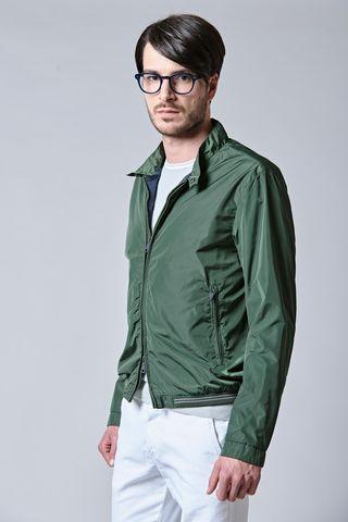 Nylon military bomber jacket Angelico
