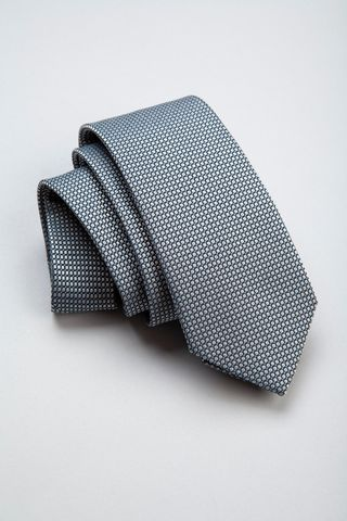 grey tie circles pattern Angelico