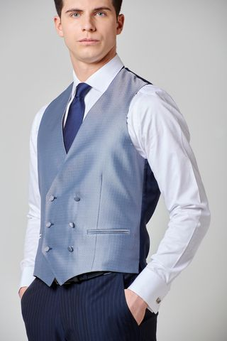 double-breasted waistcoat circles pattern Angelico