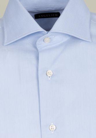 camicia azzurra 2000righe slim Angelico