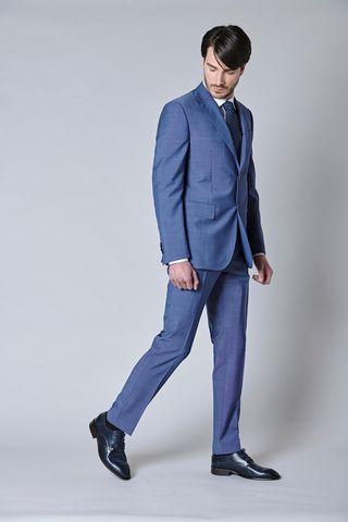 abito bluette merino armatura Angelico