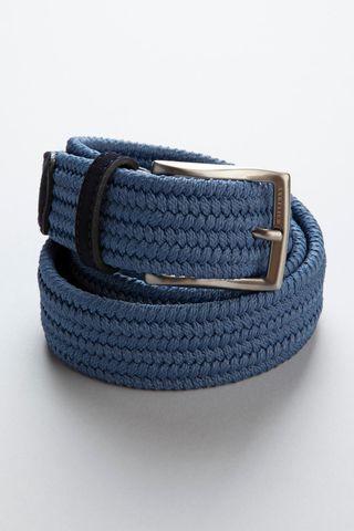 sugar blue braided elastic belt Angelico