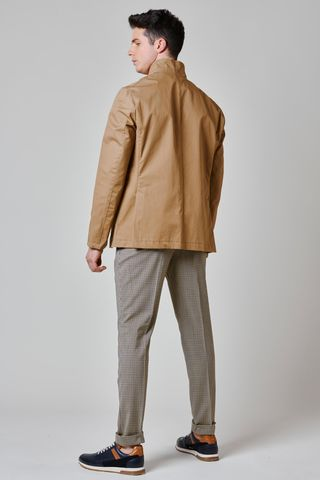 sport jacket cammello 4 tasche Angelico