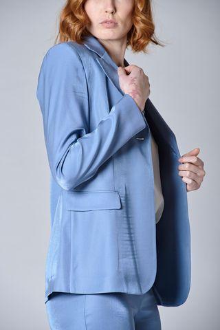 giacca avio monopetto lunga Angelico