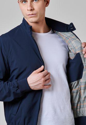blue bomber jacket Angelico