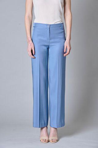 Pantalone avio ampio elegante Angelico