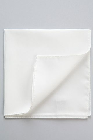 white silk pocket-square Angelico