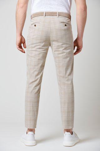 pantalone sabbia galles slim Angelico