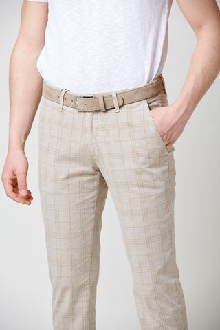 sand wales trousers slim Angelico