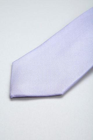 mauve tie jacquard silk. Angelico