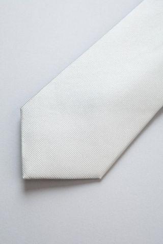 cravatta perla seta jacquard Angelico