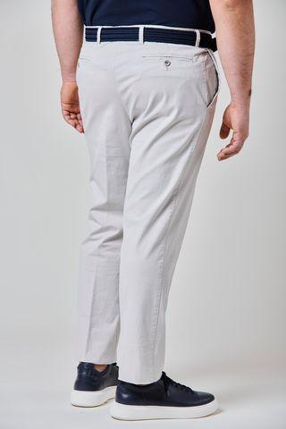 ice trousers gabardine cotton comfort Angelico