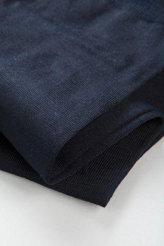 calza blu cotone filo scozia Angelico