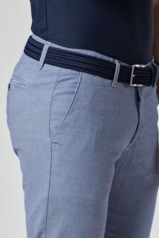 pantalone azzurro scuro armatura slim Angelico