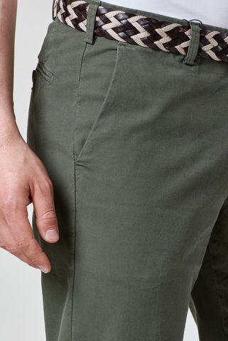 pantalone verde scuro armatura fine Angelico