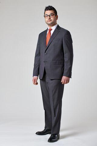 abito grigio medio 100s armatura comodo Angelico