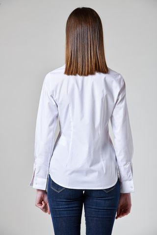camicia bianca elasticizzata donna Angelico