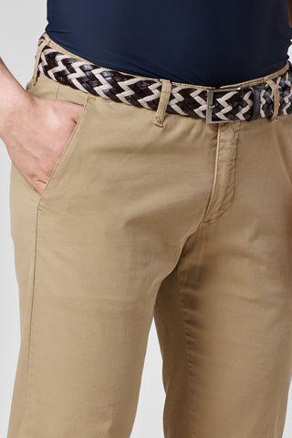 pantalone kaky stretch armatura slim Angelico