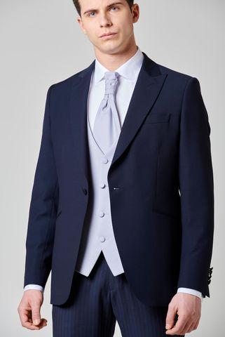 abito blu mezzo tight 4 pezzi slim Angelico