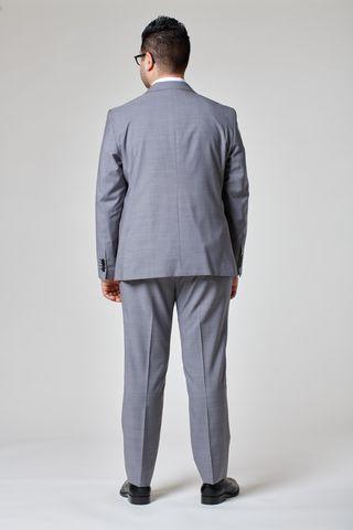 abito grigio medio armatura tessuto cerruti comodo Angelico