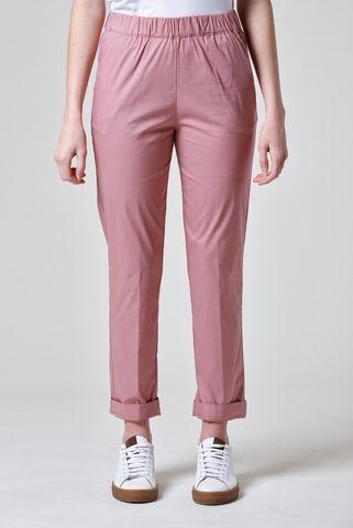 pantalone rosa antico vita elastica Angelico