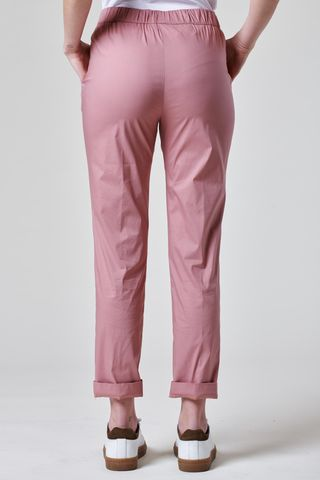 old pink trousers with elastic waist. Angelico