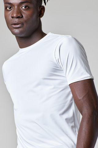 t-shirt bianca sensitive dynamic Angelico