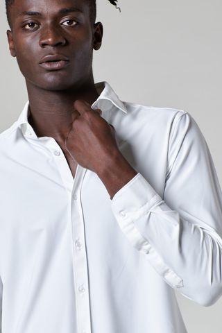 camicia bianca sensitive dynamic slim Angelico