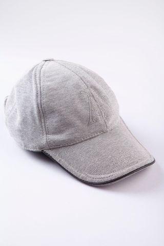 cappellino grigio jersey stretch Angelico