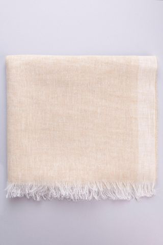 natural linen scarf Angelico