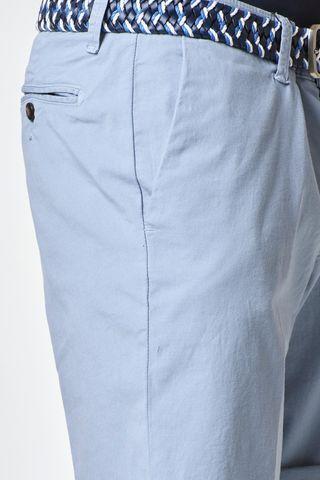 bermuda azzurro polvere cotone elasticizzato Angelico